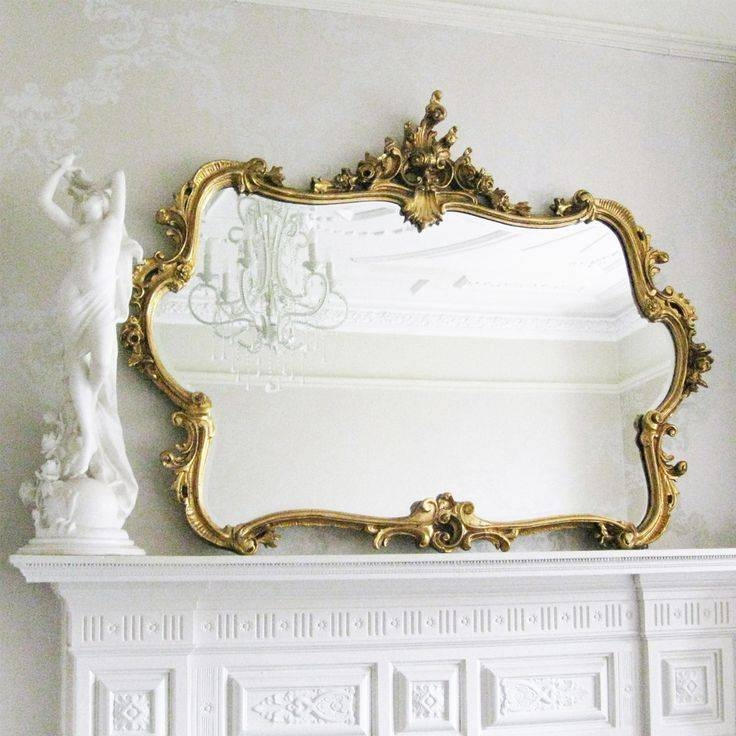 813 Best Decorative Accessories Images On Pinterest | Decorative Throughout Gold French Mirrors (#12 of 30)