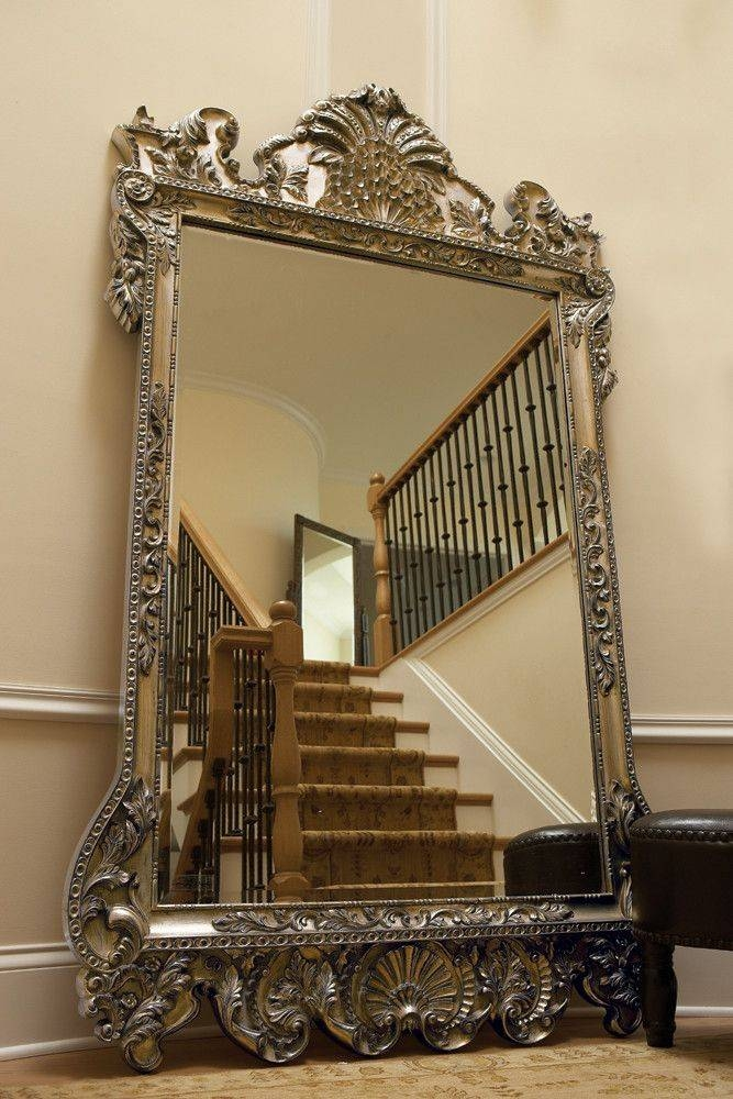 815 Best Fabulous Mirrors Images On Pinterest | Mirror Mirror Regarding Antique Large Mirrors (#5 of 20)