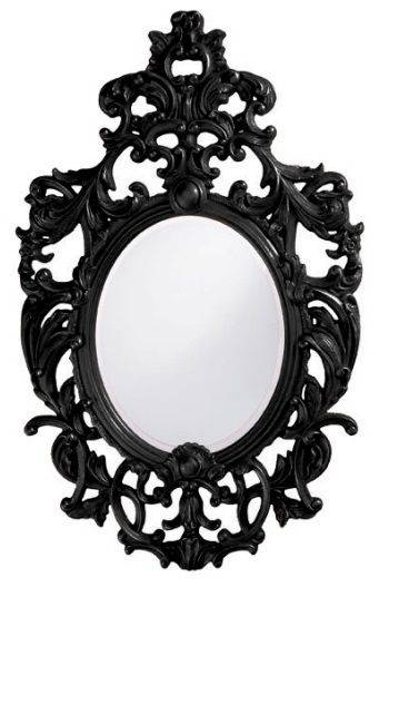 82 Best Mirrors Images On Pinterest | Mirror Mirror, Mirrors And With Regard To Black Baroque Mirrors (View 6 of 20)