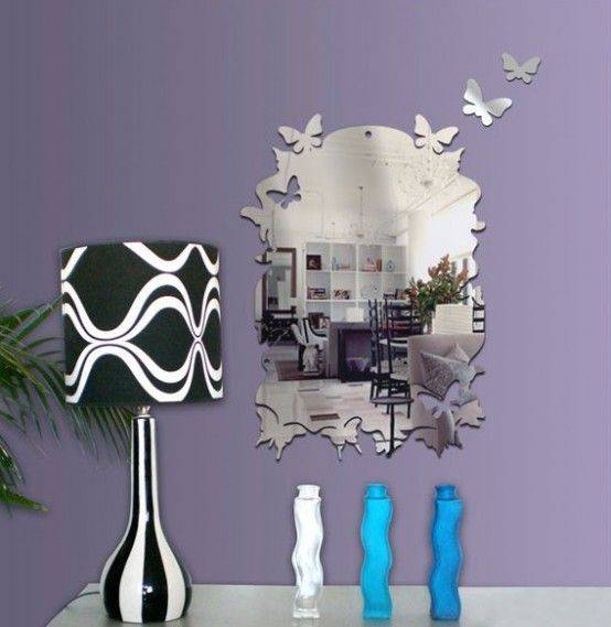 83 Best Mirror Images On Pinterest | Mirror Walls, Wall Ideas And With Regard To Butterfly Wall Mirrors (#2 of 20)