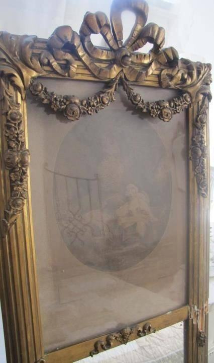 83 Best Mirrors Images On Pinterest | Mirror Mirror, Antique Intended For Vintage French Mirrors (#16 of 30)