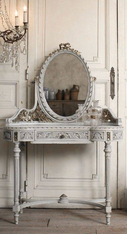 84 Best Mirrors Images On Pinterest | Mirror Mirror, French Mirror Pertaining To Vintage French Mirrors (#18 of 30)