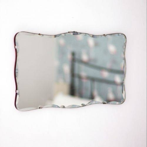 85 Best Frameless Mirrors Images On Pinterest | Mirror Mirror With Regard To Vintage Frameless Mirrors (#15 of 30)