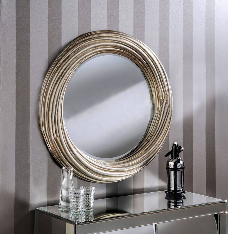 85 Best Our Modern Mirrors Collection Images On Pinterest | Modern With Regard To Unusual Round Mirrors (View 6 of 20)