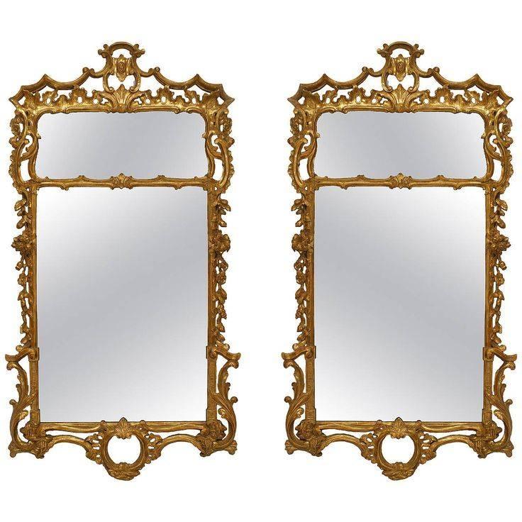856 Best Mirrors Images On Pinterest | Mirror Mirror, Antique Regarding Gilt Mirrors (View 15 of 20)