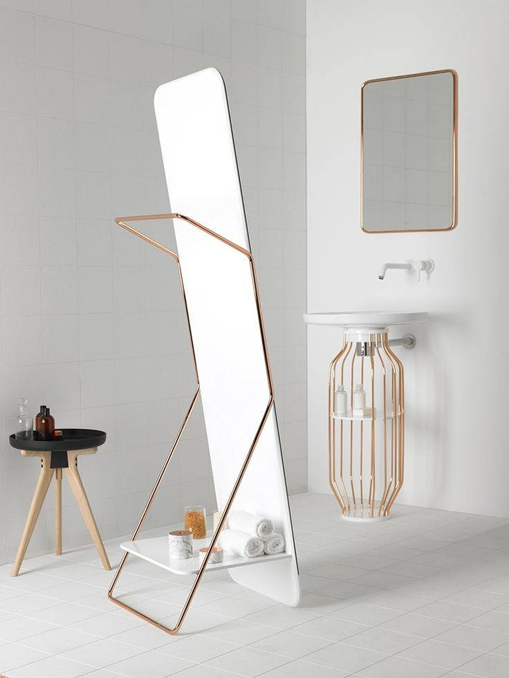 86 Best Mirrors Images On Pinterest | Architecture, Mirror And Mirrors Pertaining To Small Free Standing Mirrors (#2 of 20)