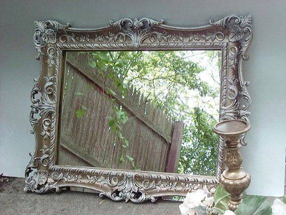 Popular Photo of Antique Ornate Mirrors