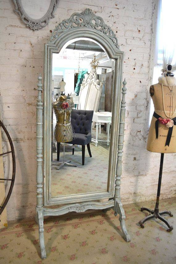 9 Best Cheval Mirror Images On Pinterest | Cheval Mirror, Mirror Intended For Shabby Chic Floor Standing Mirrors (#9 of 30)