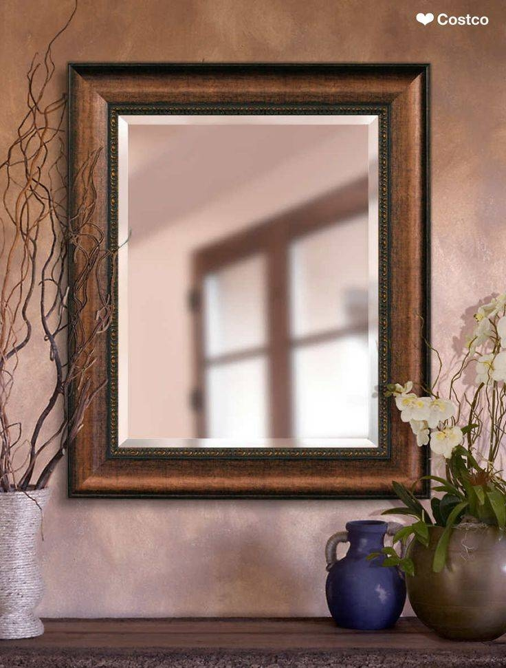 9 Best Copper Mirror Frame , Coppe Mirror, Metal Mirror Images On Throughout Distressed Framed Mirrors (#9 of 30)