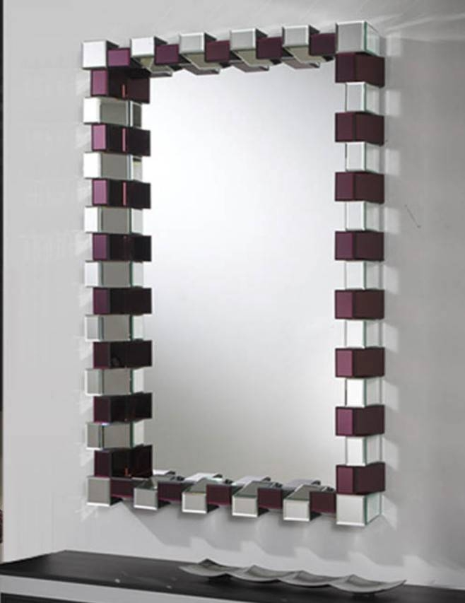 9 Unusual Bathroom Mirrors – Home Of Art Regarding Unusual Mirrors (#6 of 20)