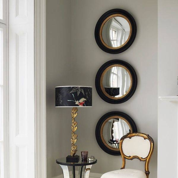 Inspiration about 92 Best Decorating Mirrors Images On Pinterest | Decorating Throughout Round Convex Wall Mirrors (#12 of 30)