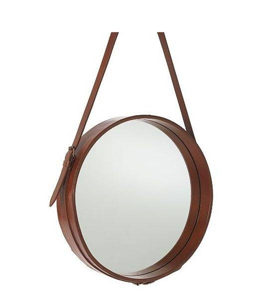 Inspiration about 92 Best Mirrors Images On Pinterest | Mirrors, Live And Mirror Ideas Within Round Leather Mirrors (#19 of 30)
