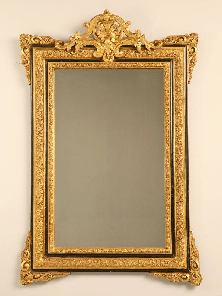 Inspiration about 94 Best Mirror Mirror Images On Pinterest | Mirror Mirror, Antique Pertaining To Ornate Gilt Mirrors (#13 of 30)
