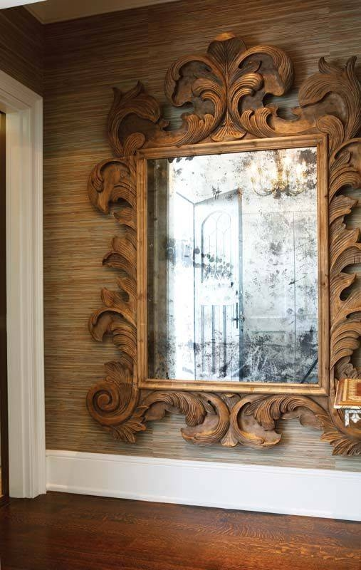 94 Best Mirror, Mirror On The Wall Images On Pinterest With Big Ornate Mirrors (#4 of 30)