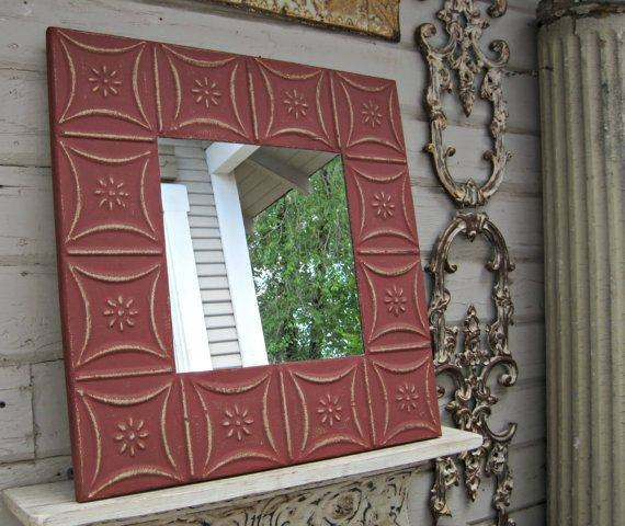 Inspiration about 94 Best Mirrors Images On Pinterest | Architectural Salvage For Pressed Tin Mirrors (#7 of 20)