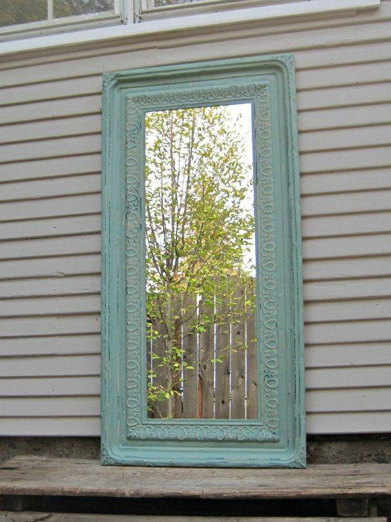 Inspiration about 94 Best Mirrors Images On Pinterest | Architectural Salvage With Pressed Tin Mirrors (#12 of 20)