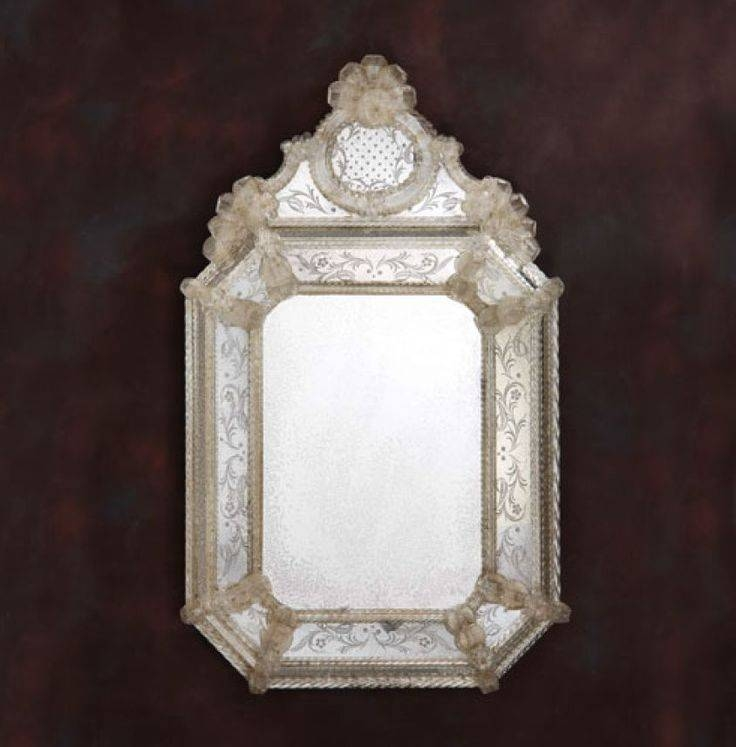 96 Best Vintage Etched Mirrors Images On Pinterest | Venetian For Venetian Etched Glass Mirrors (View 7 of 20)