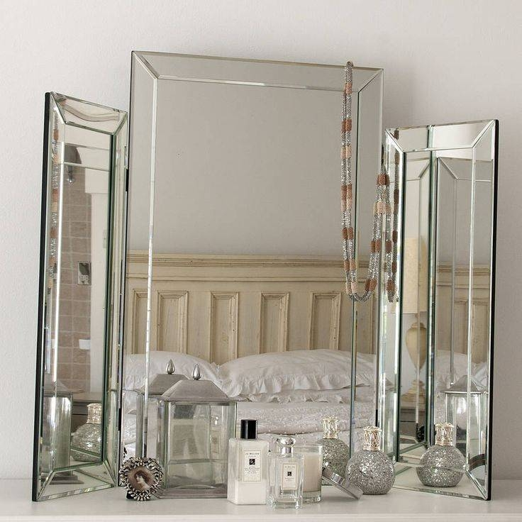 97 Best Hb Images On Pinterest | Dressing Table Mirror, Bedside Throughout Decorative Table Mirrors (View 5 of 30)
