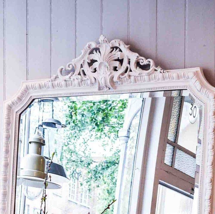 Inspiration about 97 Best Hb Images On Pinterest | Dressing Table Mirror, Bedside Throughout Large White Rococo Mirrors (#26 of 30)