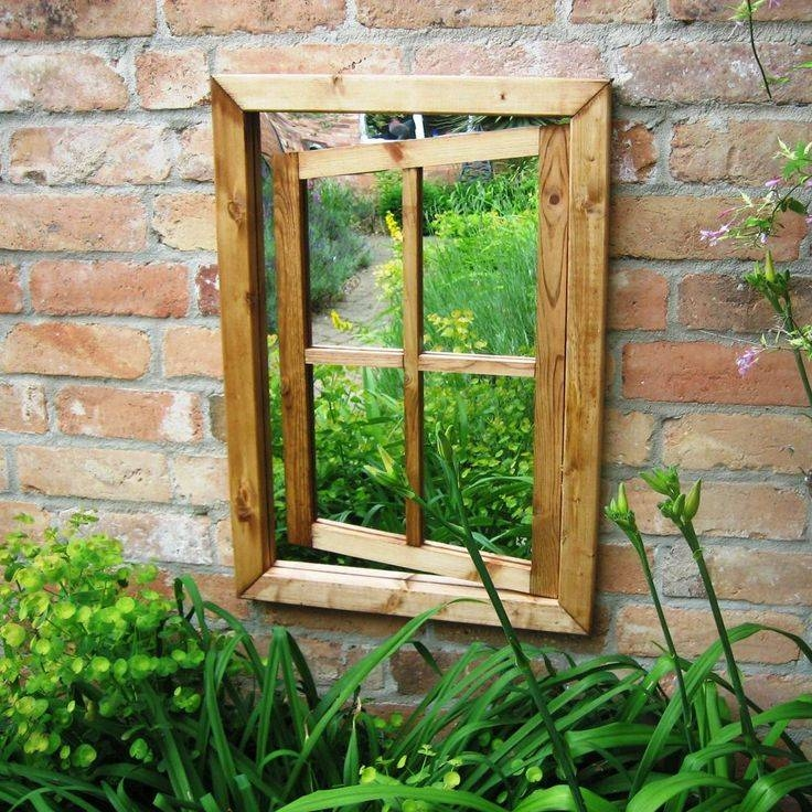 97 Best Mirror In The Garden Images On Pinterest | Garden Mirrors For Garden Window Mirrors (#9 of 20)