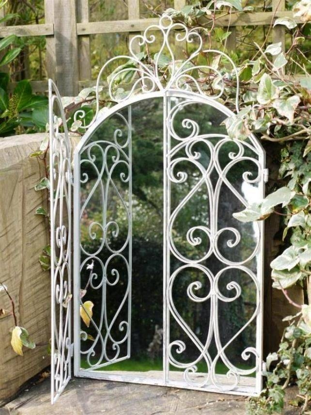 Inspiration about 97 Best Mirror In The Garden Images On Pinterest | Garden Mirrors Inside Metal Garden Mirrors (#20 of 30)