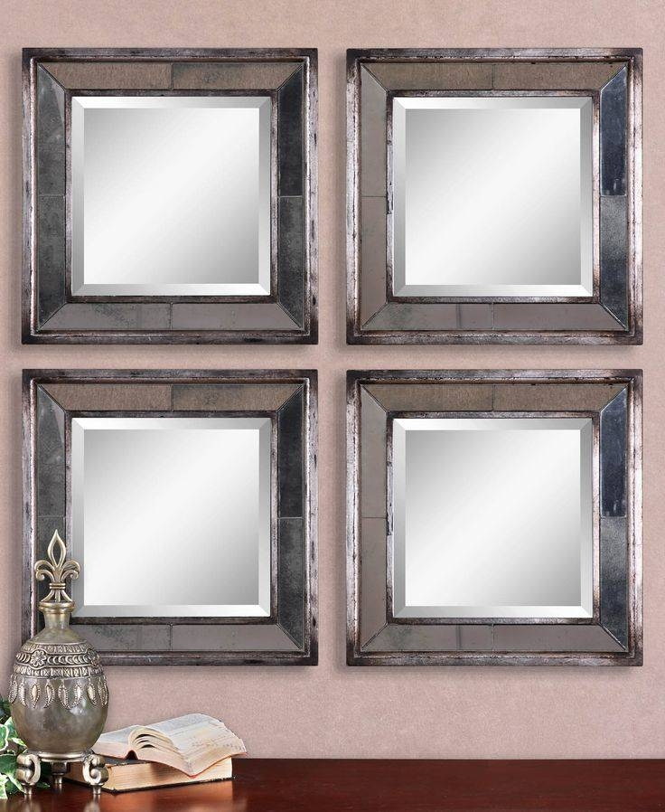 Inspiration about 97 Best Mirrors Images On Pinterest | Mirror Mirror, Antiqued Regarding Small Silver Mirrors (#20 of 20)