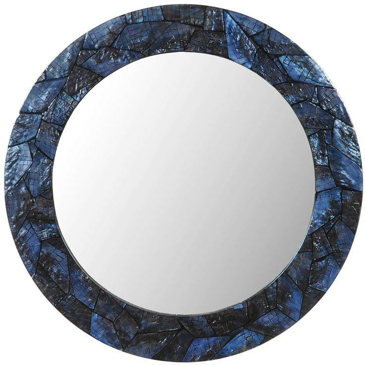 Inspiration about 98 Best Mirrors For Beach Homes Images On Pinterest | Framed Regarding Blue Round Mirrors (#13 of 30)
