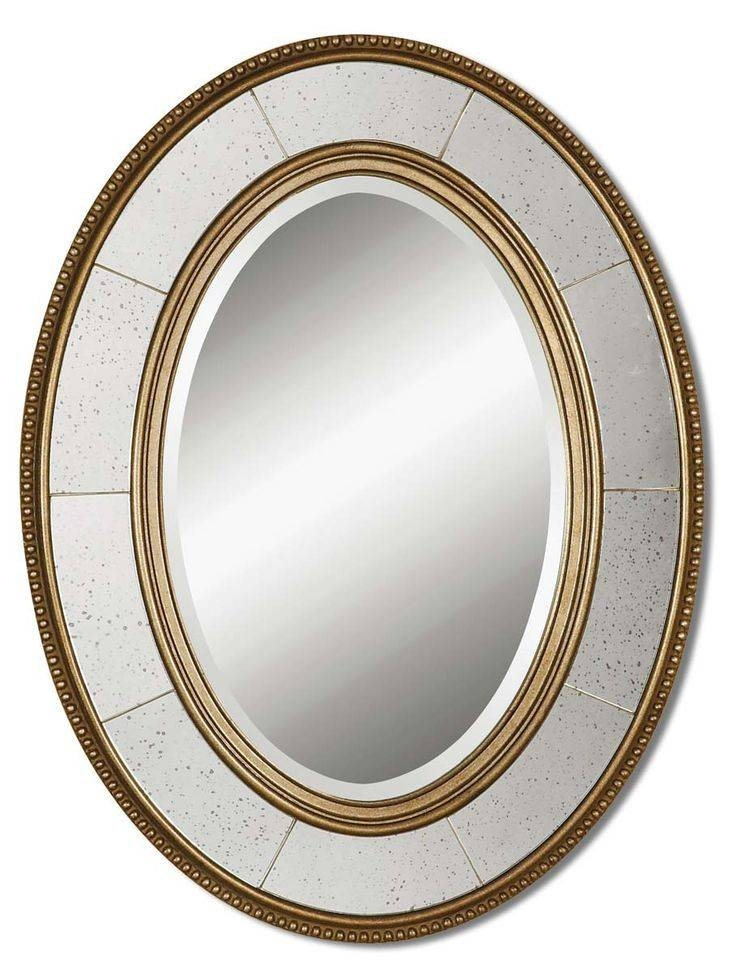 98 Best Mirrors For Beach Homes Images On Pinterest | Framed Throughout Oval Mirrors For Walls (View 15 of 20)