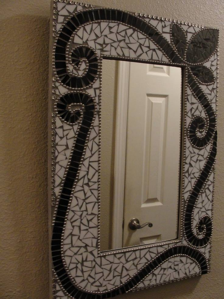 Inspiration about 98 Best Mosaic Mirrors Images On Pinterest | Mosaic Art, Mirror With Regard To Black Mosaic Mirrors (#14 of 30)