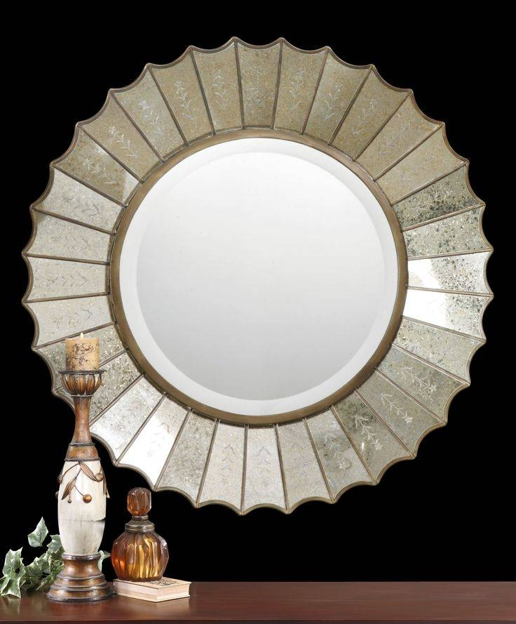 Inspiration about 99 Best Mirrors Images On Pinterest | Mirror Mirror, Antiqued Within Large Round Gold Mirrors (#12 of 30)