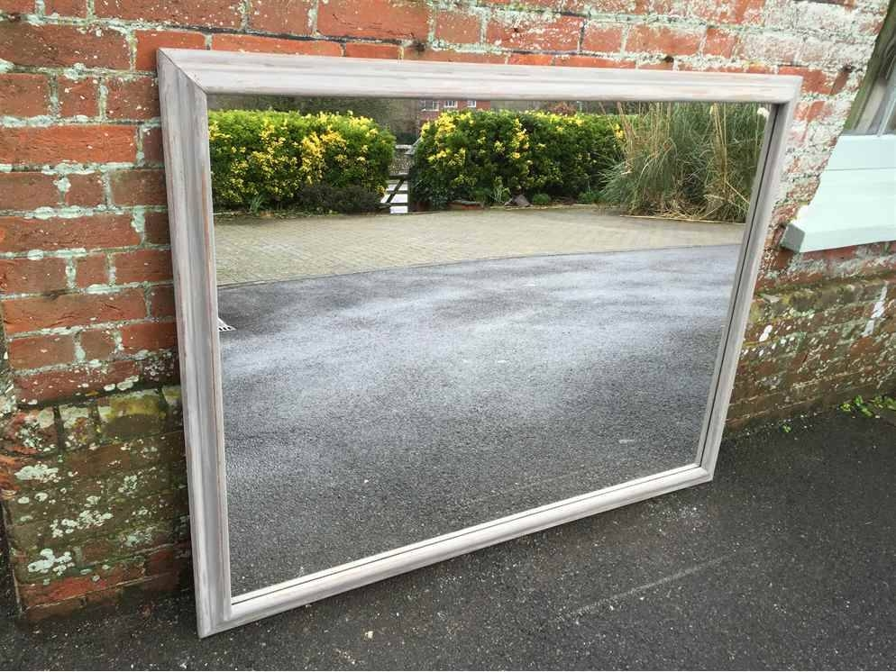 A Large Antique 19Th Century French Carved Wood Original Throughout French Floor Standing Mirrors (#8 of 20)