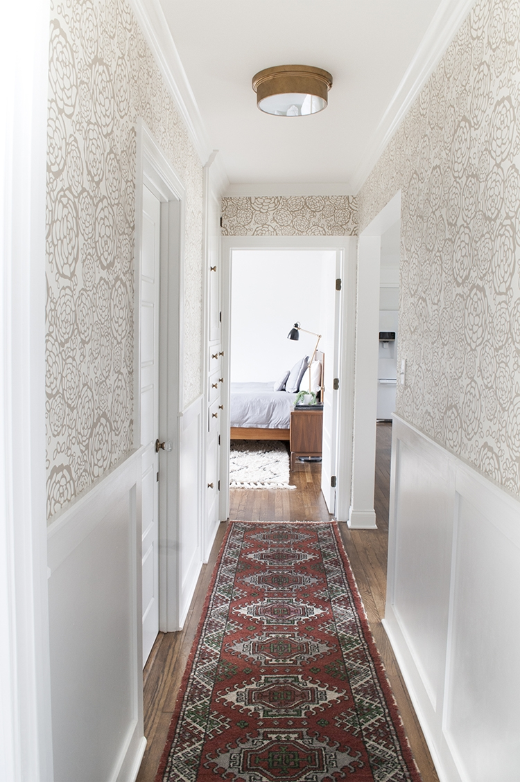 A Pretty Hallway A Runner Giveaway Room For Tuesday Throughout Long Carpet Runners For Hallways (#1 of 20)