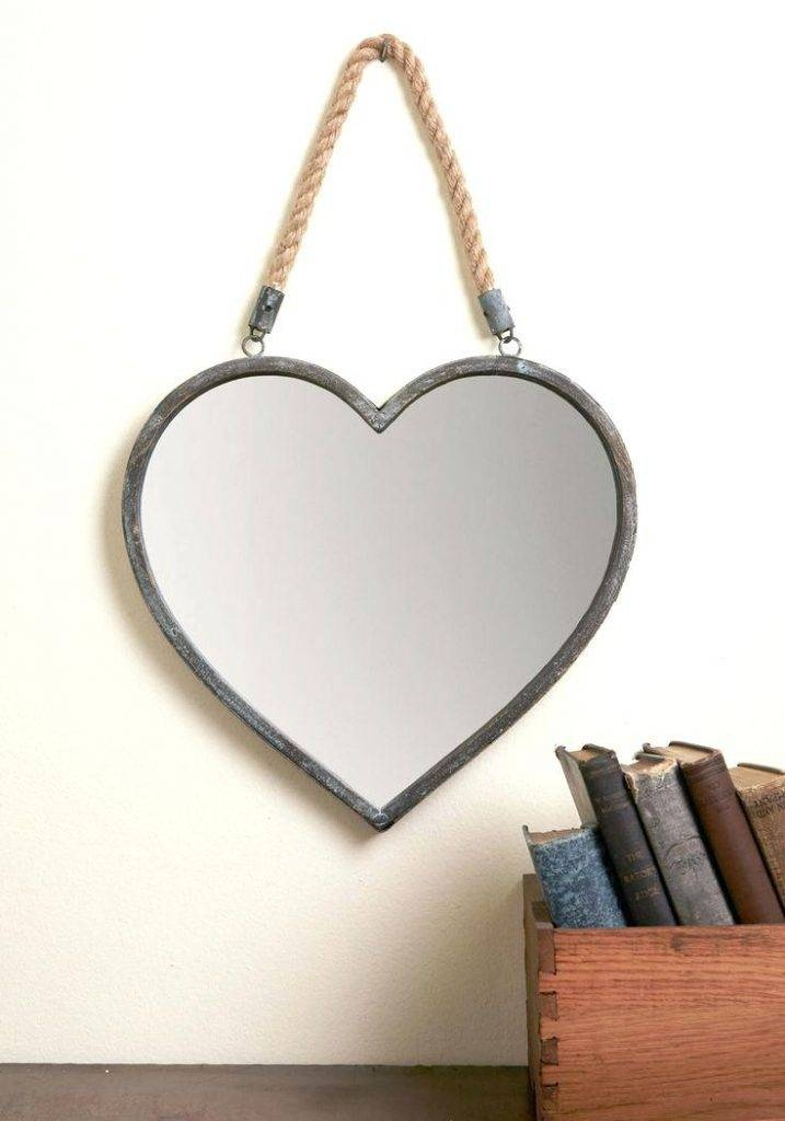 Abbyson Heart Shaped Wall Mirrorheart Mirror For Large Mirrors Regarding Large Heart Mirrors (View 6 of 15)