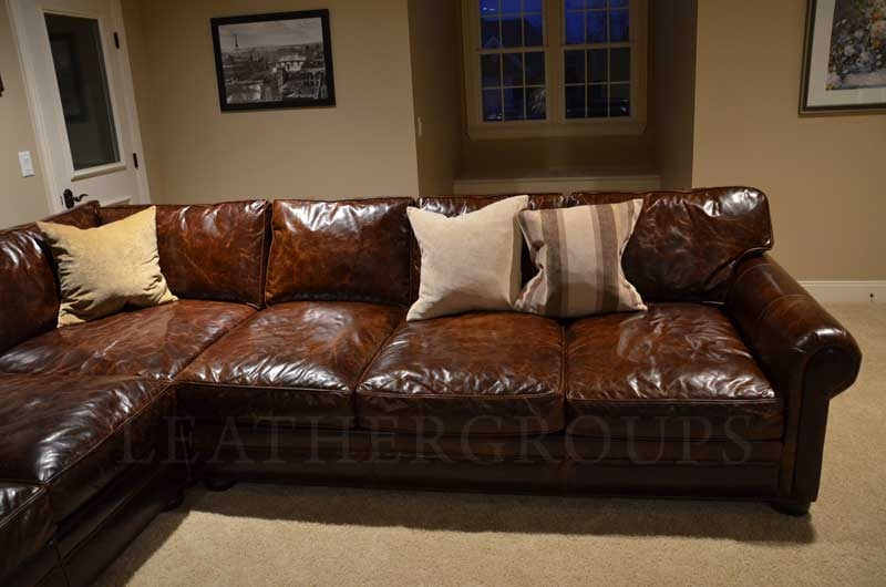 15 Photo of Vintage Leather Sectional Sofas