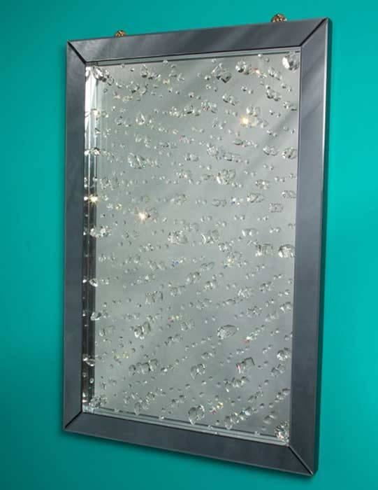 Popular Photo of Wall Mirrors With Crystals
