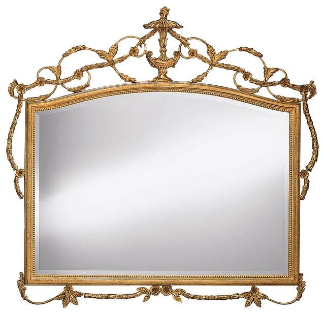 Adam Style Horizontal Wall Mirror – Victorian – Wall Mirrors – Pertaining To Victorian Style Mirrors (View 12 of 30)