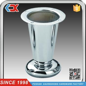Adjustable Chrome Sofa Legs Metal Adjustable Furniture Legs Bed Within Adjustable Sofa Legs (#2 of 15)