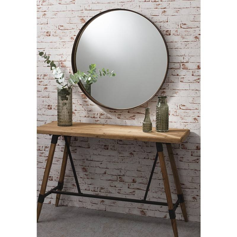 Aged Bronze Wall Mirror | Aged Bronze Finish Pertaining To Large Bronze Mirrors (#8 of 30)