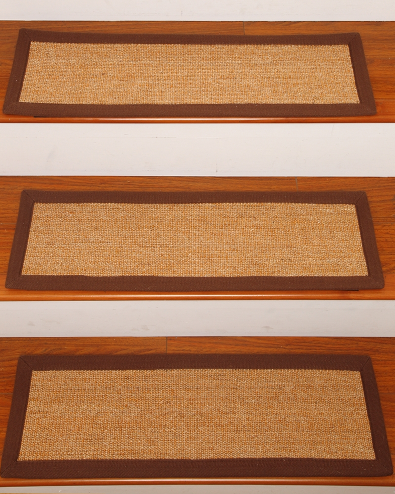 Alexandria Sisal Carpet Stair Tread Set Of 13 Clearance 9 X Pertaining To Carpet Stair Treads And Rugs 9× (View 4 of 20)