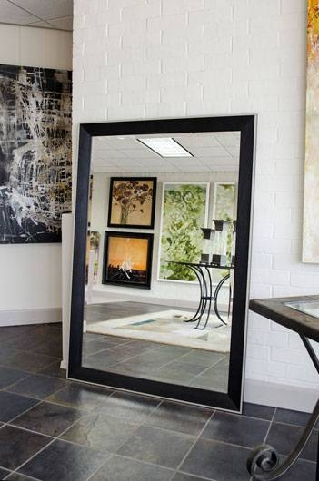 Inspiration about All About Resilvering Mirrors Pertaining To Large Black Mirrors (#5 of 30)