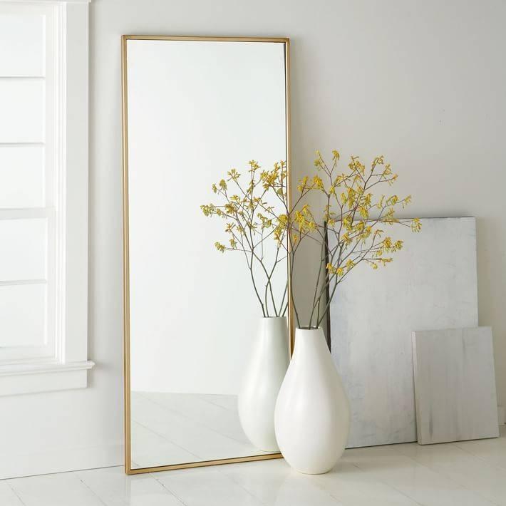 All Mirrors   West Elm Inside Full Length Frameless Mirrors (#2 of 20)