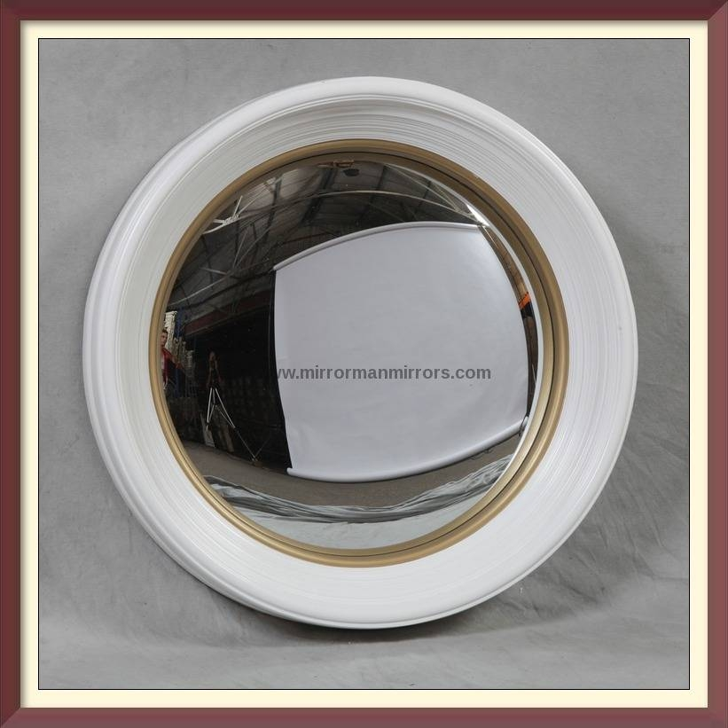 All Products : Mirrorman Mirrors Of London, Mirrors, Chandeliers Throughout White Convex Mirrors (#5 of 30)