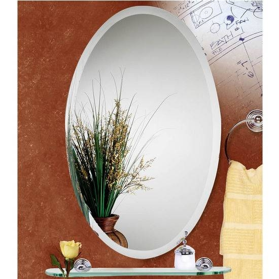 Alno Oval Medicine Cabinets W/ Beveled Edge – Free Shipping Intended For Beveled Edge Oval Mirrors (#6 of 20)