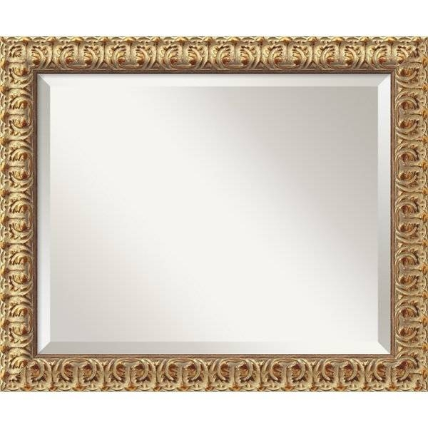 Popular Photo of Gold Wall Mirrors