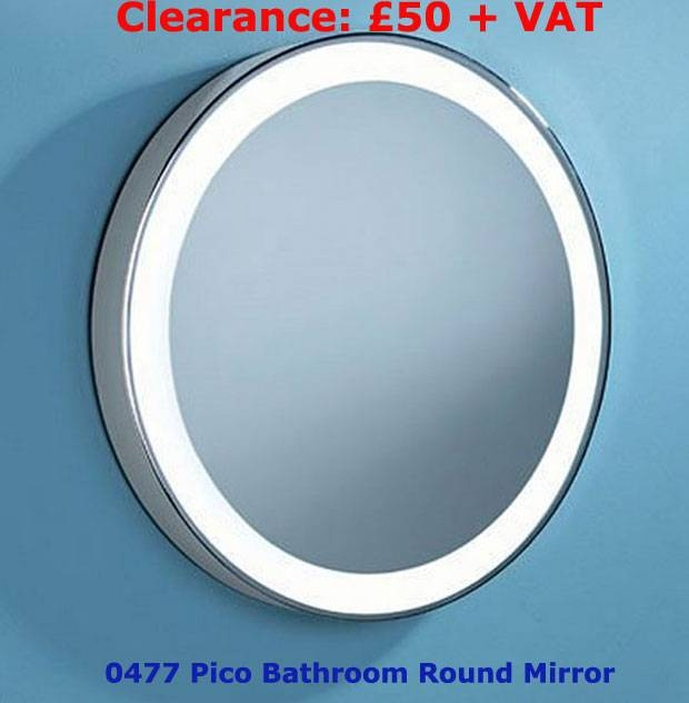 Amazing Bathroom Mirrors With Led Lights Sale Ideas – Home Regarding Blue Round Mirrors (View 18 of 30)