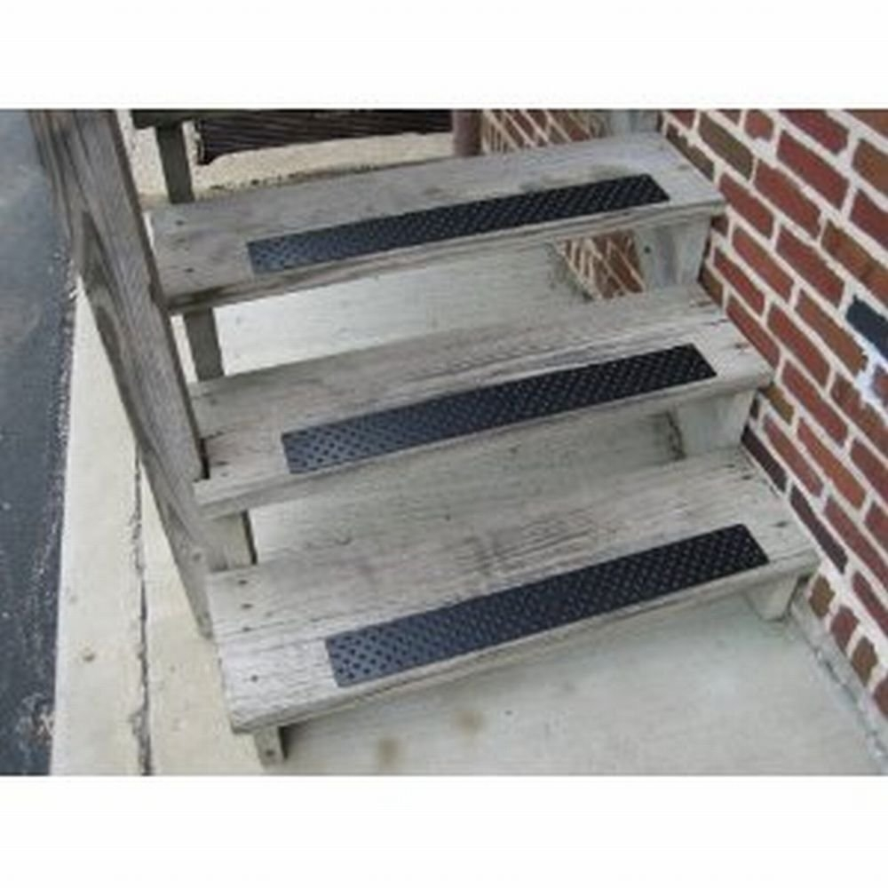 Amazon Aluminum Tread To Prevent Slips And Falls On Hardwood Throughout Stair Slip Guards (#2 of 20)