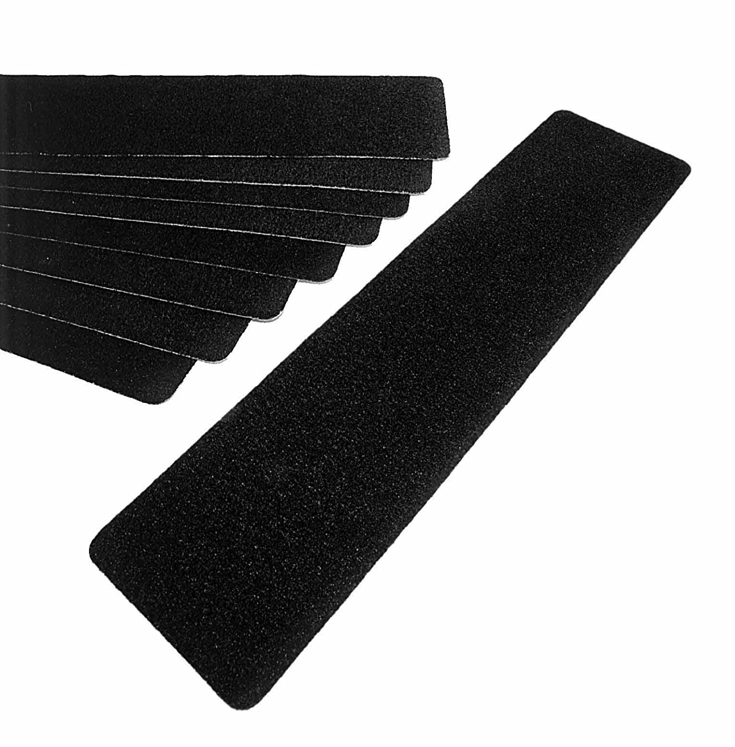 Amazon Black Stair Safety Tape Non Slip Treads Package Of Within Stair Slip Guards (#4 of 20)