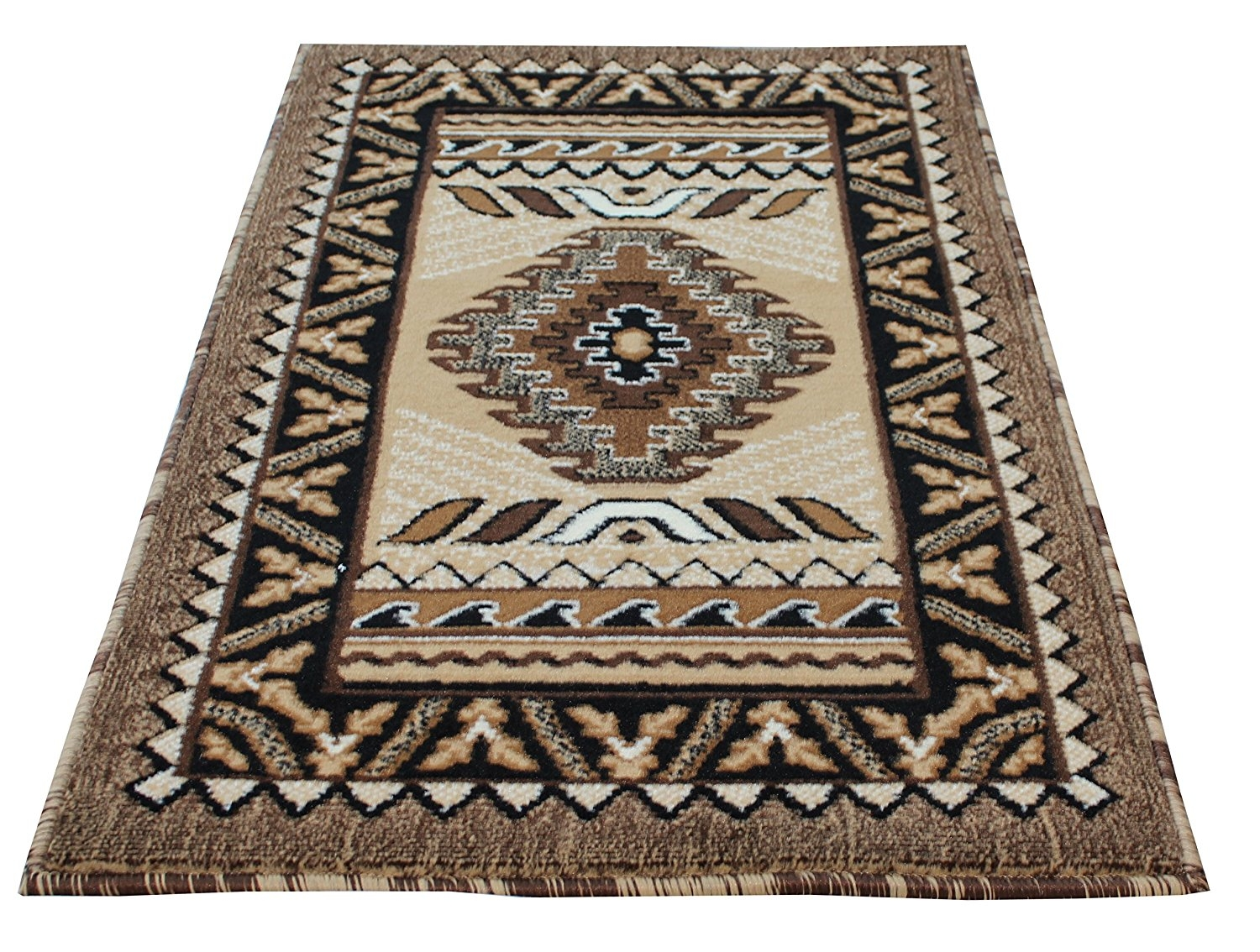 Amazon Rugs 4 Less Collection Southwest Native American Pertaining To Runner Carpets Hallway (#2 of 20)