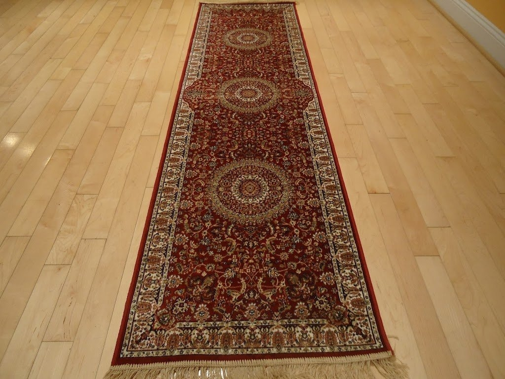 Amazon Stunning Silk Persian Area Rugs Traditional Shiny Area Inside Hallway Floor Runners (#3 of 20)