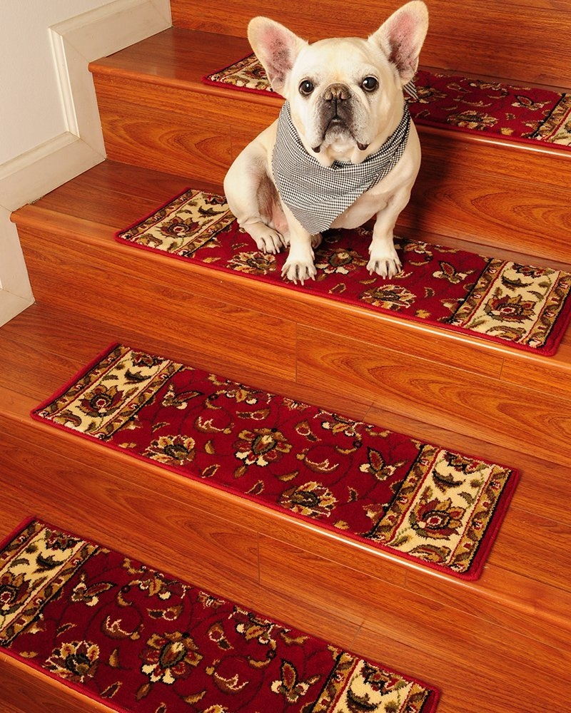 Amazon Summit Carpet Stair Treads 9 X 29 Set Of 13 Regarding Carpet Stair Treads And Rugs 9× (View 15 of 20)